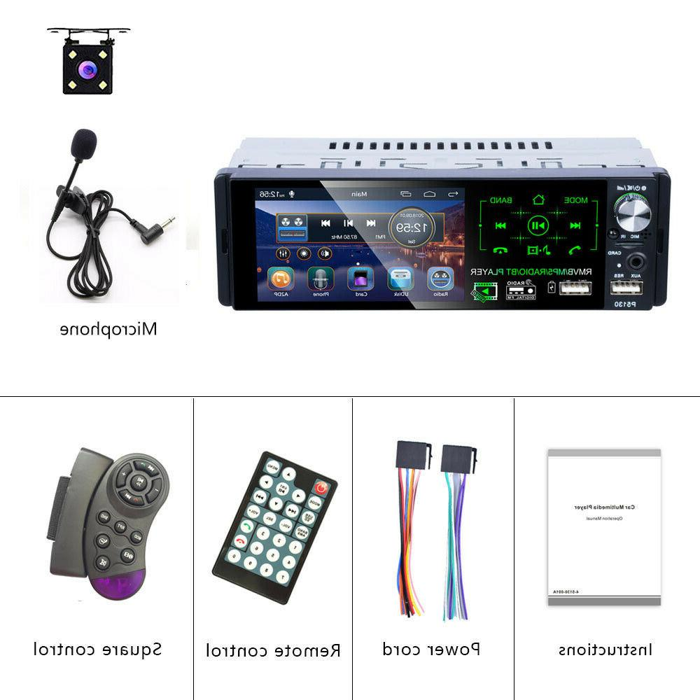 Single Stereo Radio FM MP5 Player