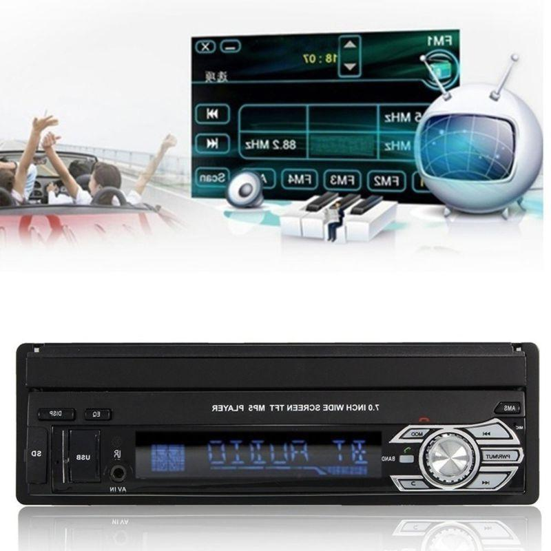 "Single 1Din 7"" Stereo Car Touch Screen BT SD"