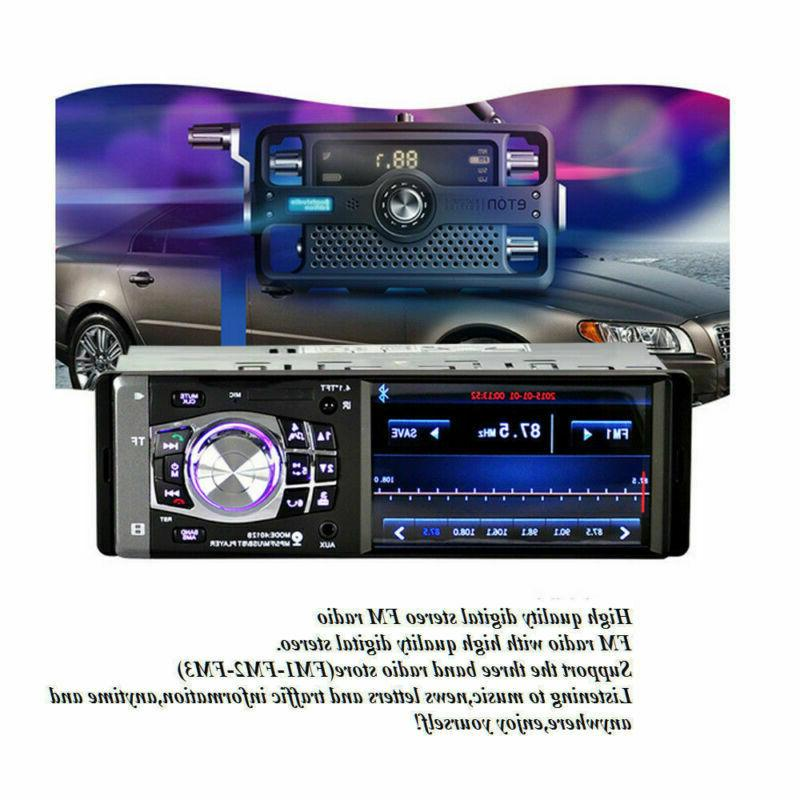 Single 1 MP5 Player AUX