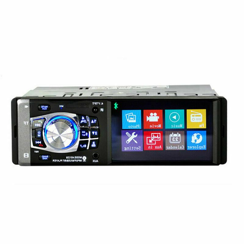 Single Car Radio MP5 AUX
