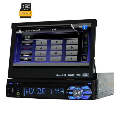 Single 1DIN Car Stereo Player