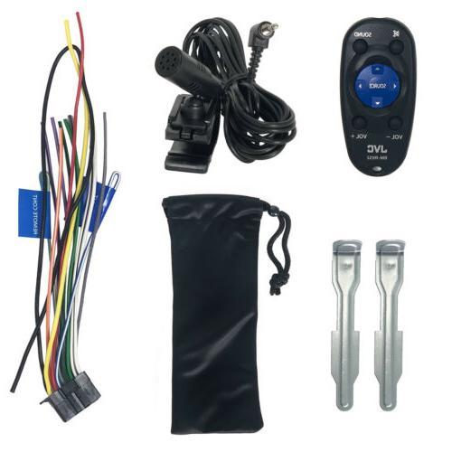 JVC Single Bluetooth USB AM/FM Radio Stereo Remote