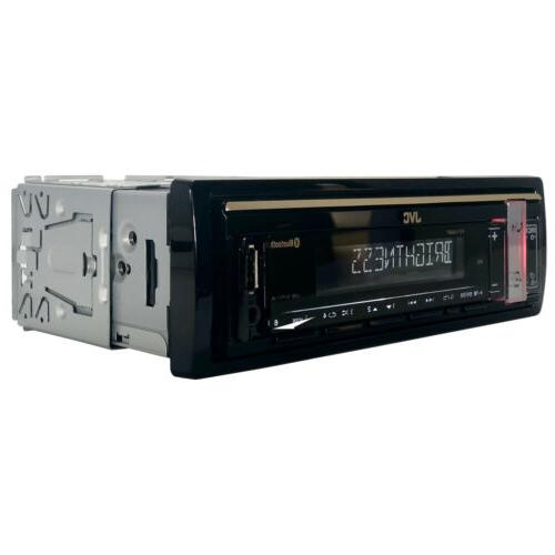 JVC Single Bluetooth USB AM/FM Radio Stereo with Remote
