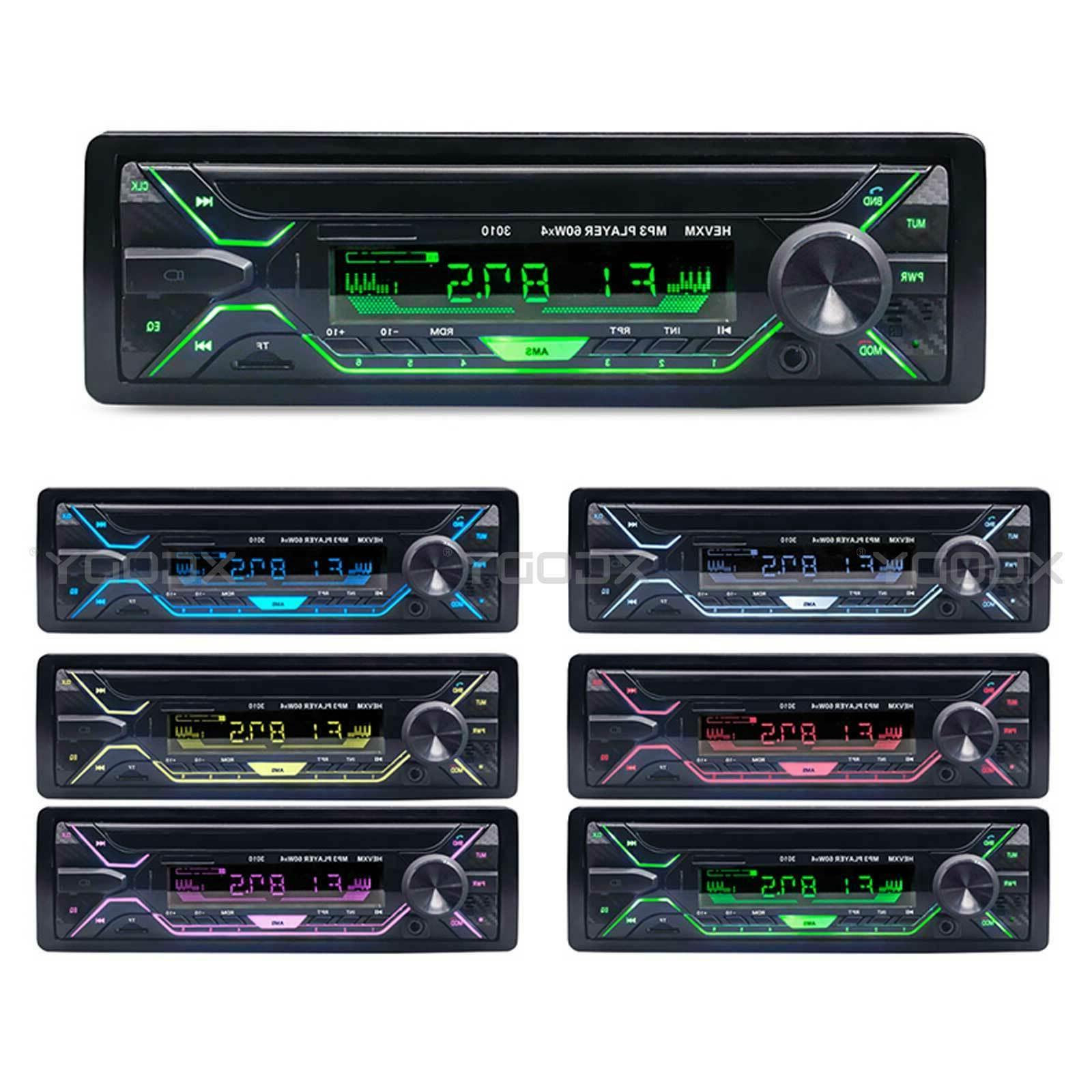 Single Din Radio In-dash Video MP3 Player AM