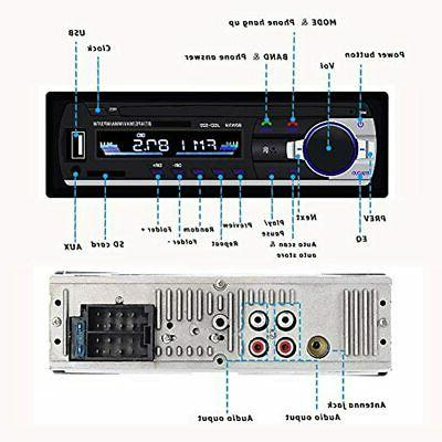 Single Din Reveiver FM Wireless