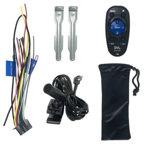 JVC Media Bluetooth AM/FM Radio Car W Remote
