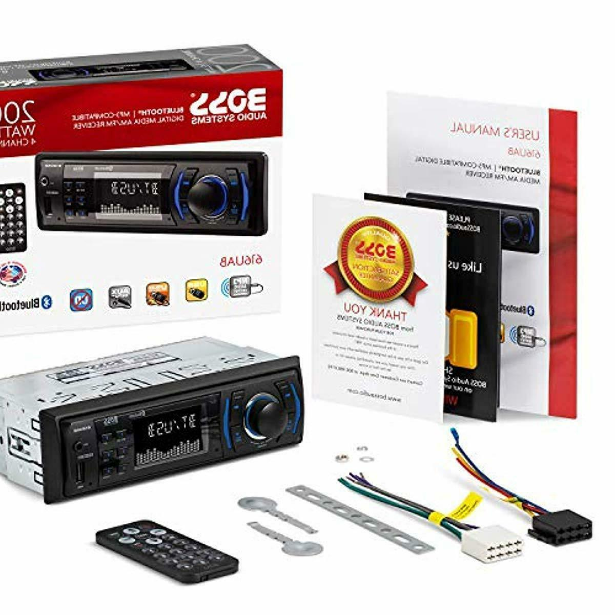 BOSS Audio Multimedia Stereo Din