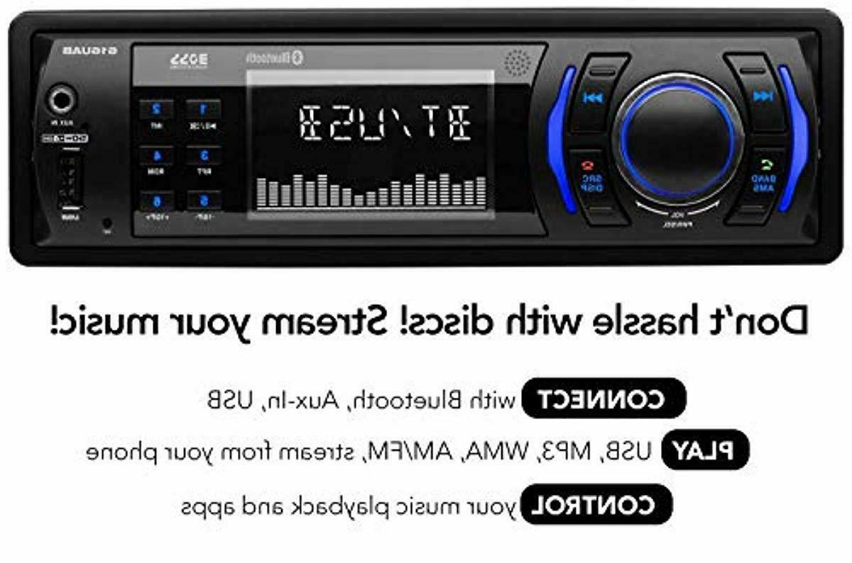 BOSS Audio Multimedia Car Stereo Single Din Bluetooth