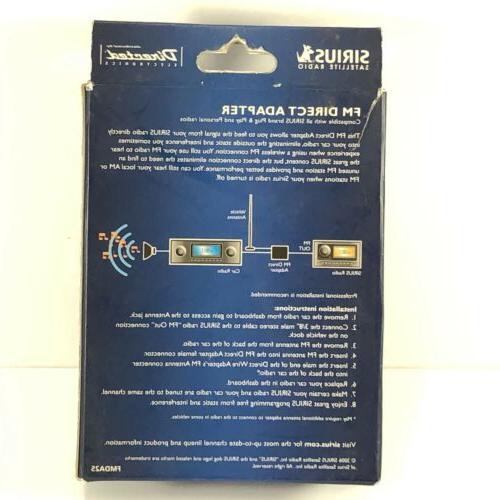 SIRIUS Replay Radio Receiver Kit FM Adapter