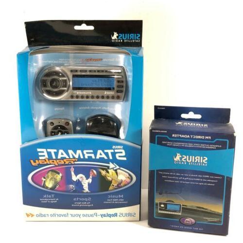 sirius starmate replay satellite radio receiver