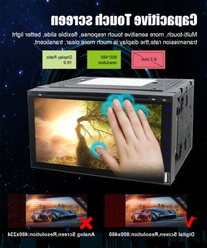 Sony lens Double DVD Bluetooth CD+CAMERA