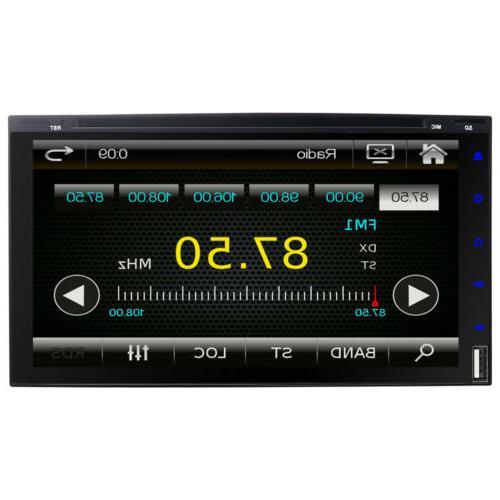 "Sony Din 7""Car Stereo DVD Dash Bluetooth"