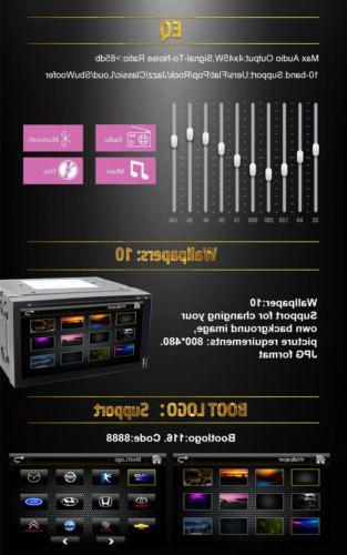 "Sony Din 7""Car Stereo DVD Player Bluetooth CD+CAMERA"
