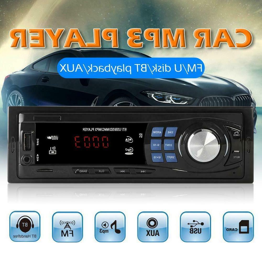 SWM 8013 1 DIN Car StereoMP3 PlayerHead Unit Bluetooth U