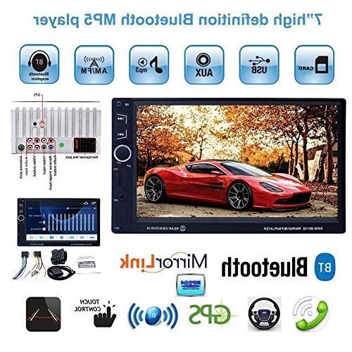 SWM 8011G 7in HD IPS 2 Din Bluetooth