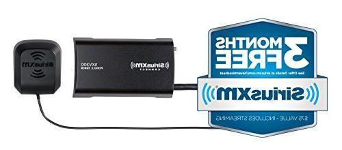 SiriusXM Tuner Radio Months Satellite and Service