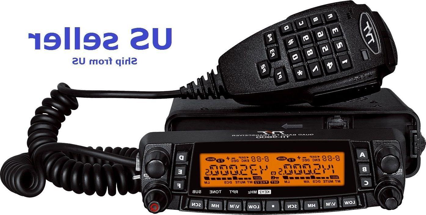TYT TH-9800 plus 29/50/144/430 MHZ QUAD BAND TRANSCEIVER Mob