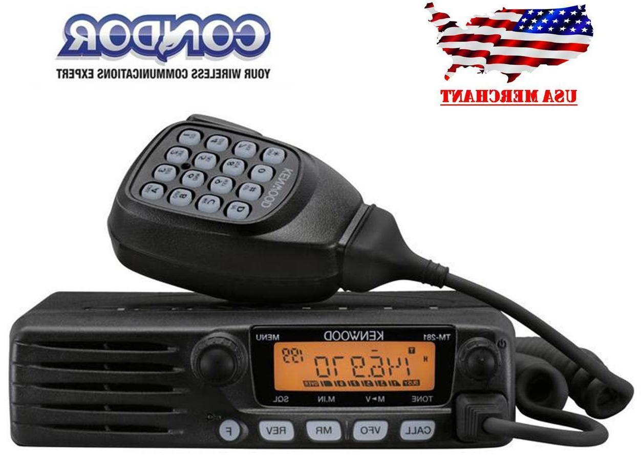 tm 281a vhf 65w mobile two way