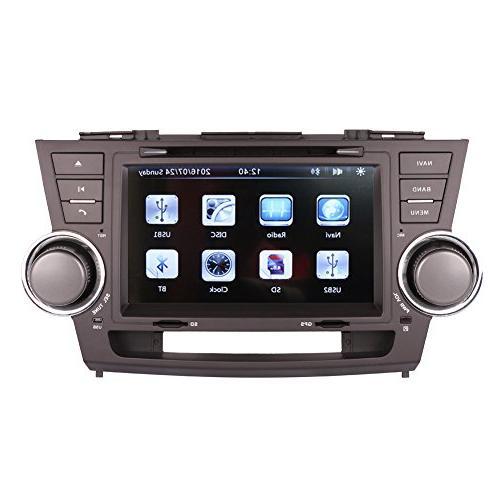 touch car gps navigation
