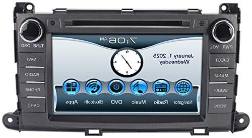 Astrium 2011-2014 Sienna In-dash GPS Stereo FM AM Radio Head Screen CD USB SD Player OEM w/ Copyrighted iGo Primo Maps