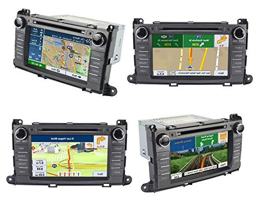 Astrium Toyota In-dash GPS FM Radio Head Unit Screen Receiver CD SD Player OEM Copyrighted iGo Maps
