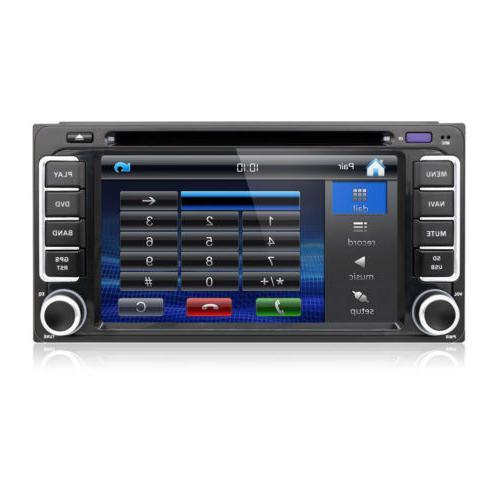 Universal 6.2'' Car Radio GPS Player Toyota Prado+