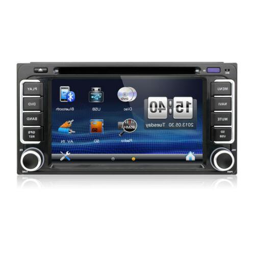 Universal 6.2'' GPS Navigation Player for Toyota Prado+