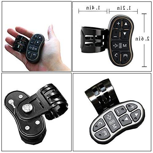 Steering Wheel Player Steering wheel control with Audio Volume Bluetooth Switch