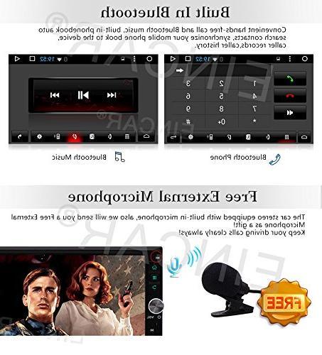 Upgrade EinCar Car Stereo 7'' HD Touch Screen