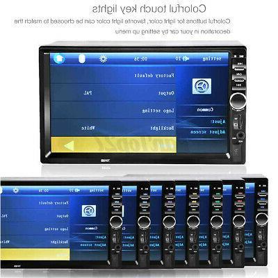 US 2DIN Radio bluetooth HD MP5