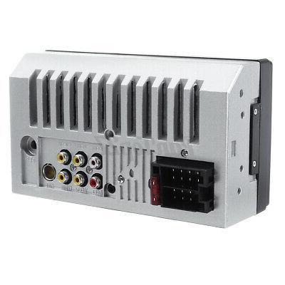 "US 2DIN Car Radio bluetooth 7"" MP5 Player Screen FM+8 LED"