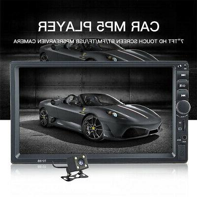 """US Radio 7"""" MP5 Player Touch FM+8 LED Camera"""