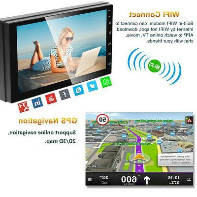 Android8.1 Stereo GPS Navigation HD WIFI inch