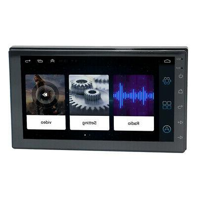 WiFi GPS Android Double 2 Din Car Player Stereo Bluetooth