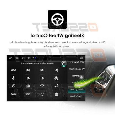 US Din Car Stereo GPS Navigation Radio #X