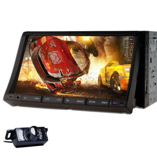 2DIN Car Bluetooth Unit MP5 Player Touch+Camera