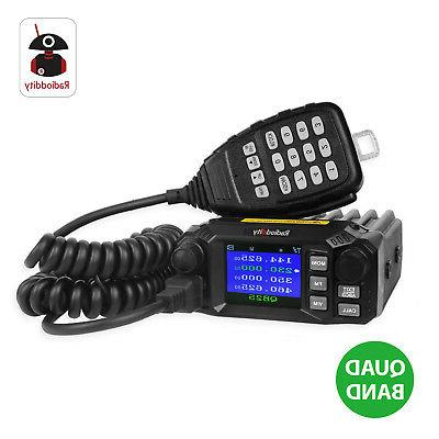 Mobile Radio Transceiver VHF/UHF Quad
