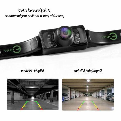 Car Rear View Backup Camera Parking Reverse Back Up Camera W