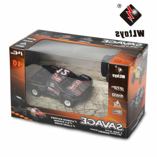 Wltoys WL 2.4G 4WD 1/24 RC Control US Seller
