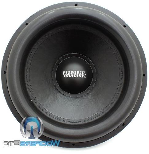 "X-18 - Audio 18"" Dual 4-Ohm"