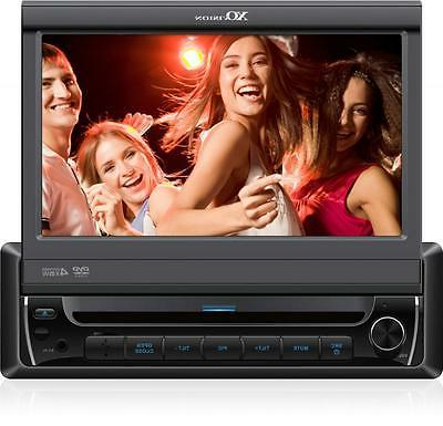 "XO Vision X341BT 7"" Touch Screen DVD Receiver with Built-in"