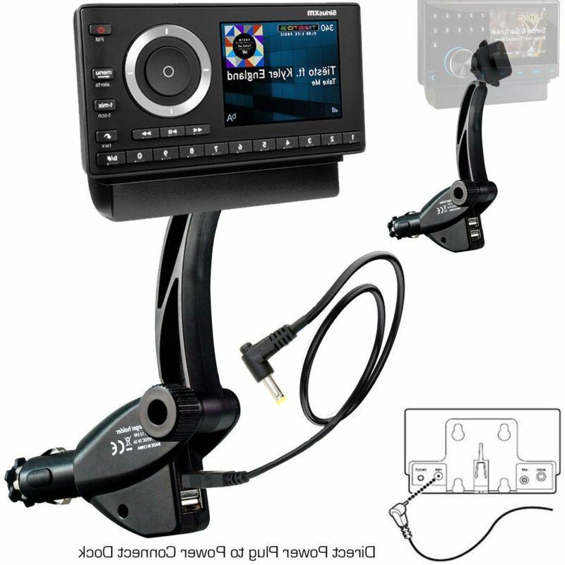 XM Onyx Satellite Radio Vehicle Kit Dock Play Sirius Music S