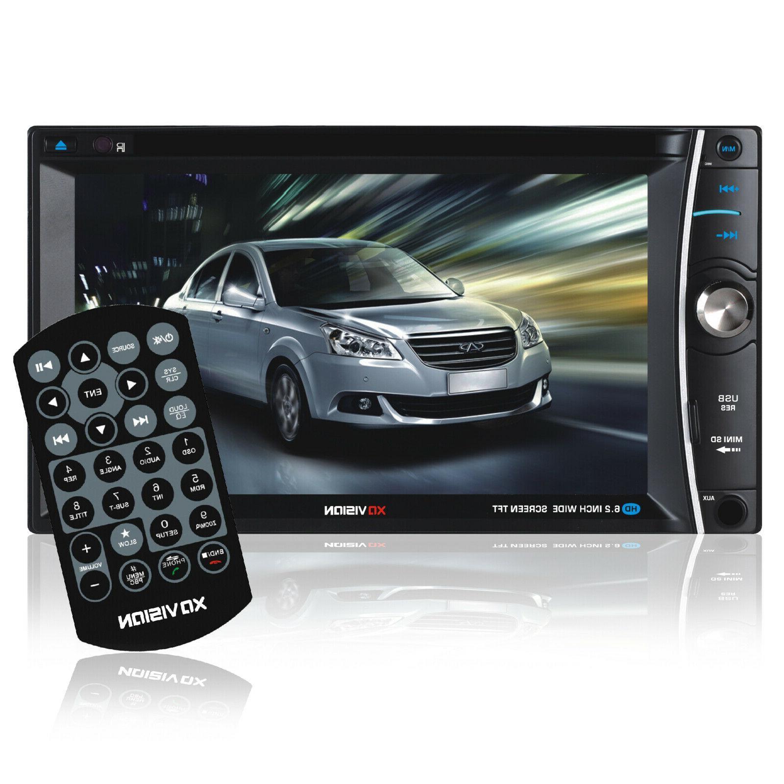 XO Vision Car Stereo 6.2 inch Wireless Bluetooth Multimedia
