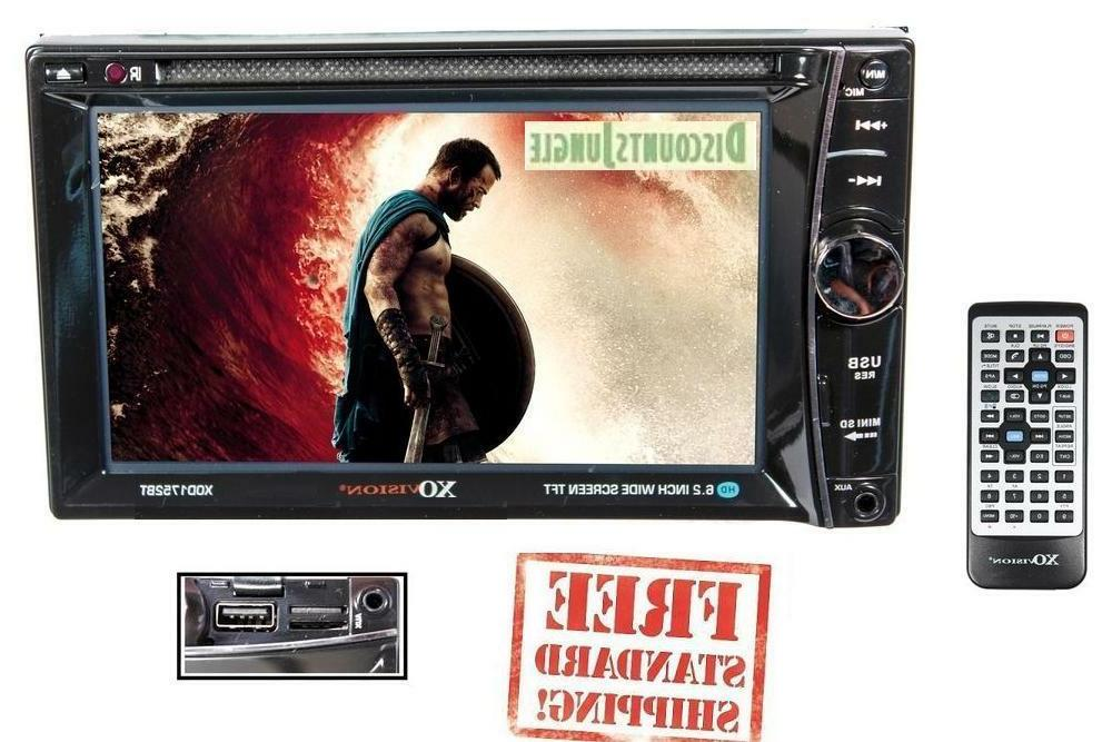 "XO VISION XOD1752BT 6.2"" LCD MULTIMEDIA DVD BLUETOOTH CAR au"