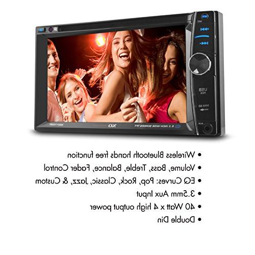 XOVision Car Player - LCD - Double DVD DivX, Video CD - miniSD - - Input - In-dash