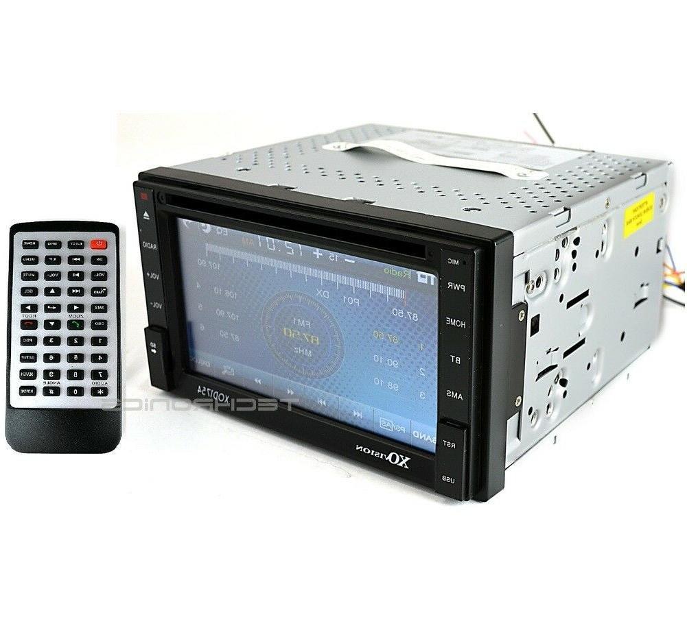 "XO VISION XOD1754 6.2"" LCD MULTIMEDIA DVD BLUETOOTH CAR STER"