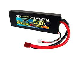 Common Sense RC Lectron Pro 7.4V 7600mAh 75C Lipo Battery Li