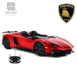 Licensed RC Car 1:12 Scale Lamborghini Aventador J | Rastar