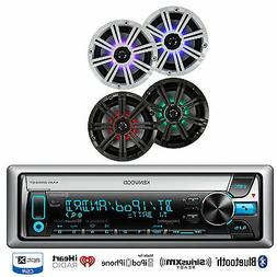 Marine iPod Bluetooth CD USB Kenwood Radio, 4 Marine Polk Au