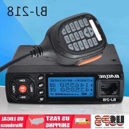 Mini BJ-218 Car Trunk Ham Mobile Transceiver 2-Way Radio Dua